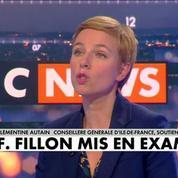 Mise en examen de François Fillon : Clémentine Autain écoeurée