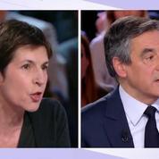 L'échange tendu entre François Fillon et Christine Angot