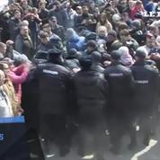 Plusieurs manifestants anti-corruption arrêtés à Vladivostok en Russie