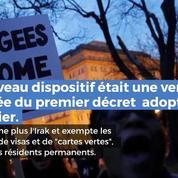 Le nouveau décret migratoire de Trump à nouveau bloqué par la justice