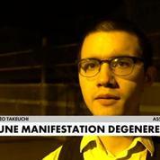 Paris : une manifestation dégénère