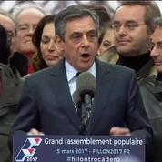 François Fillon débute son discours du Trocadéro :