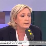 La remarque sexiste de Marine Le Pen à propos d'Anne-Claire Coudray