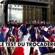 François Fillon : le test du Trocadéro