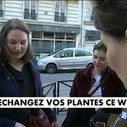 Troc plantes : A Paris, les plantes s'échangent comme des livres