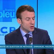Emmanuel Macron pour un renforcement des contrôles aux frontières de l'Europe