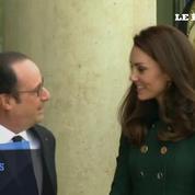 Kate et William sont arrivés à l'Elysée