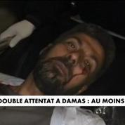 Double attentat à Damas : au moins 46 morts