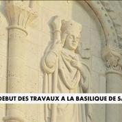 Début des travaux à la basilique Saint-Denis