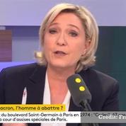 Le Pen veut bien débattre avec Macron mais pas sur «BFMacron»