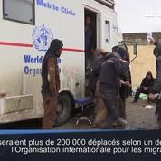 Des milliers de civils continuent de fuir les combats à Mossoul-Ouest
