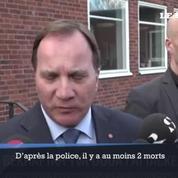 Pour le premier ministre suédois «tout indique qu'il s'agit d'un acte terroriste»