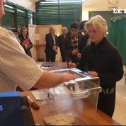 Penelope Fillon vote en famille dans la Sarthe