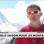 Les montagnards des Alpes ont de nouveau le sourire