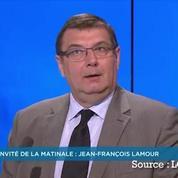 Lamour répond à Guaino : «Qu'il prenne sa décision, qu'il s'en aille»