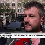 Fessenheim : De nombreux salariés d'EDF mobilisés