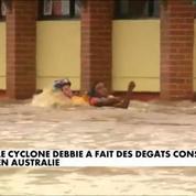 Inondations en Australie : les dégâts du cyclone Debbie