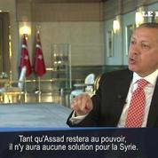 Pour Erdogan, la Syrie «devrait être libérée d'Assad»