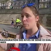 Berges à Paris : Les Rives de Seine inaugurées ce dimanche