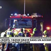 Six morts dans un accident de la route en Saône-et-Loire