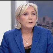 Marine Le Pen juge sévèrement les frappes américaines en Syrie