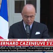 Bernard Cazeneuve réagit aux déclarations de Marine Le Pen