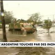 L'Argentine touchée par des inondations