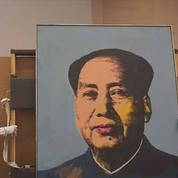 Un portrait de Mao par Warhol vendu 12,7 millions de dollars aux enchères