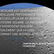 Salon la NASA, Encelade et Europe pourraient receler la vie.