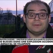 Explosion accidentelle au Carnaval de Villepinte