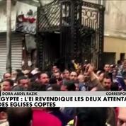 L'Egypte frappé par deux attentats contre des églises