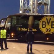 Explosion à Dortmund : l'arrivée du bus ciblé au stade