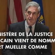 Robert Mueller, un ex-directeur du FBI à la tête de l'enquête sur les liens entre la Russie et Donald Trump
