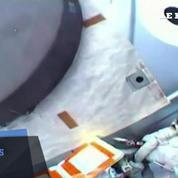Sortie réussie sur l'ISS pour une réparation d'urgence
