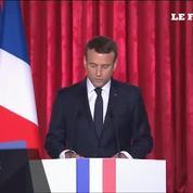 Discours d'investiture d'Emmanuel Macron: