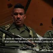 Le désarmement des FARC retardé de 20 jours