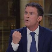La droite défend Manuel Valls