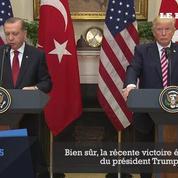 Donald Trump et Recep Tayyip Erdogan se promettent leur amitié