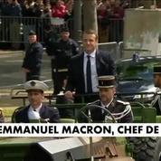 Emmanuel Macron devient le chef des armées