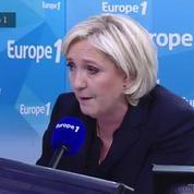 Marine Le Pen accuse Emmanuel Macron de vouloir mettre en place un impôt européen