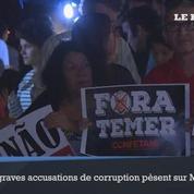 Nouvelle nuit de manifestations contre le président Temer au Brésil