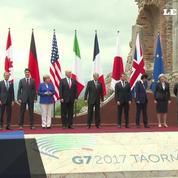 Les dirigeants du G7 posent pour la «photo de famille»