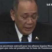Rodrigo Duterte instaure la loi martiale dans le sud des Philippines contre l'État islamique
