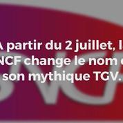 Le TGV change de nom, les internautes multiplient les moqueries