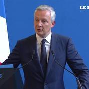 Pour son discours de passation de pouvoir, Bruno Le Maire veut une «Europe plus forte»