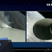 Space X envoie 10 satellites dans l'espace