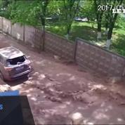 Ukraine : une impressionnante explosion dans les rues de la capitale
