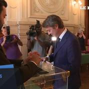 Législatives : François Baroin a voté à Troyes