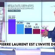 Pierre Laurent sur le score du PCF aux législatives : Ce n'est pas ce que nous valons