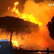 Incendie en Espagne : au moins 1500 personnes évacuées